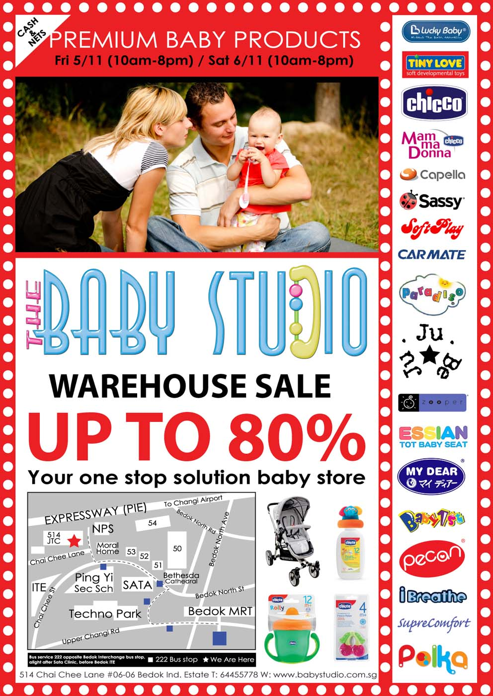 The Baby Studio Warehouse Sale