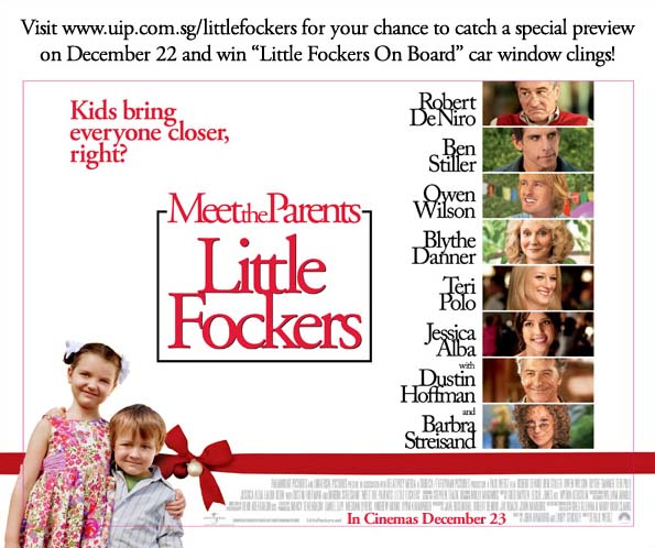 Win Tickets to the Preview of Little Fockers Screening