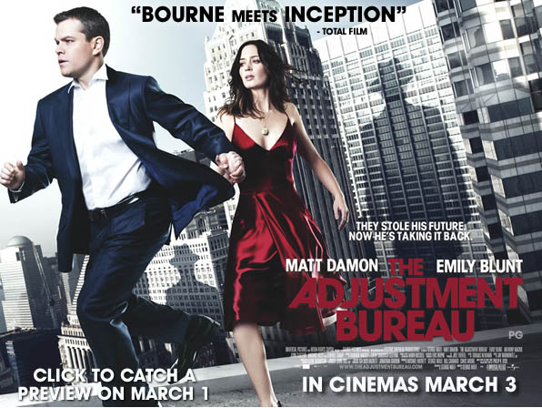 The Adjustment Bureau Movie Contest