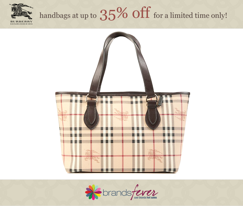 Burberry handbag sale @ Brandsfever