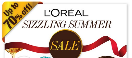 L'Oreal Sizzling Summer Sale