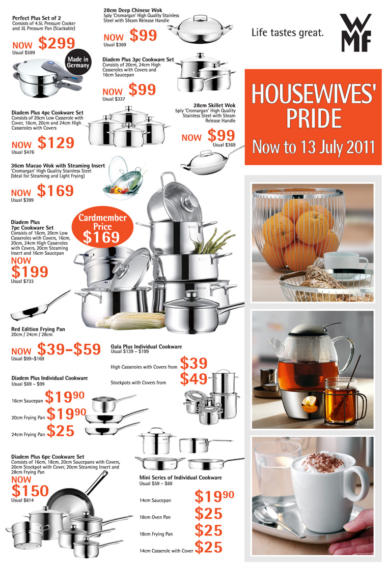 WMF Cookware Exclusive Offers @ OG