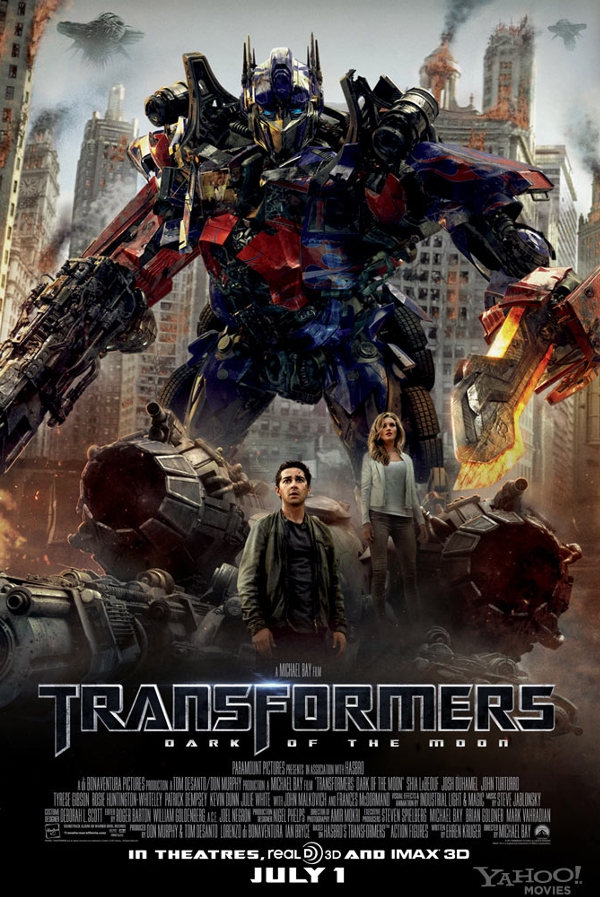 Movie of the Week – Transformers: Dark of the Moon