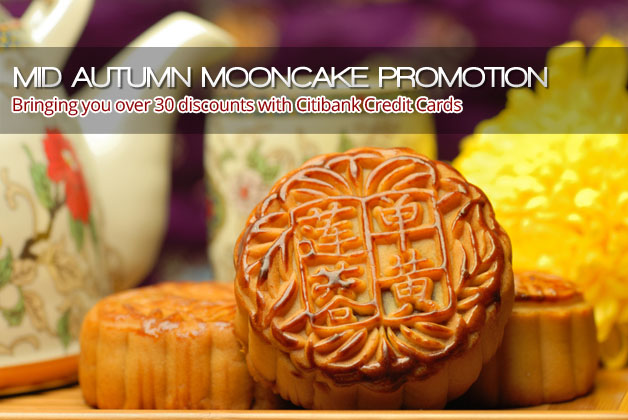 Mid-Autumn Mooncake Promotion with Citibank Credit Cards