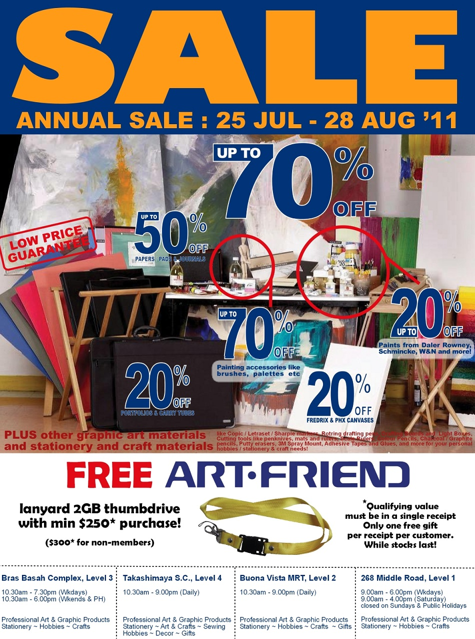 ART FRIEND Annual Sale