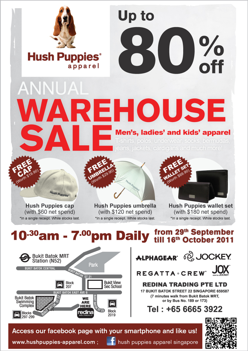 Hush Puppies Apparel Warehouse Sale
