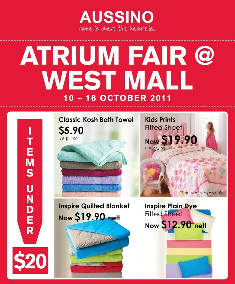 Aussino Atrium Fair @ West Mall