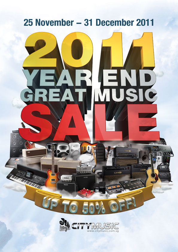 City Music Year End Sale