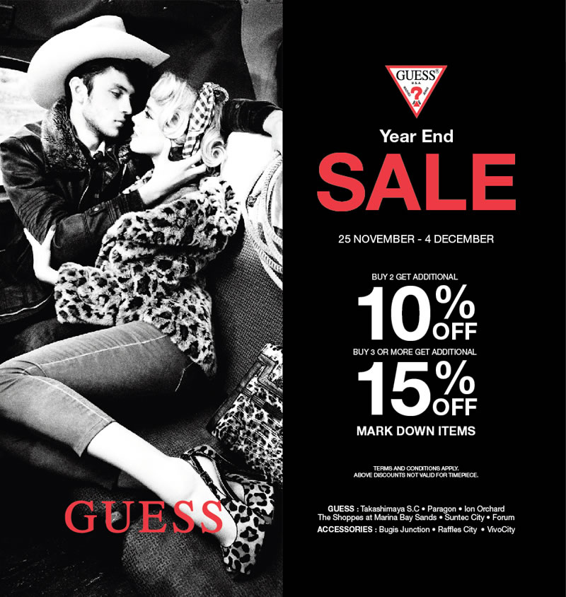 GUESS Year End Sale