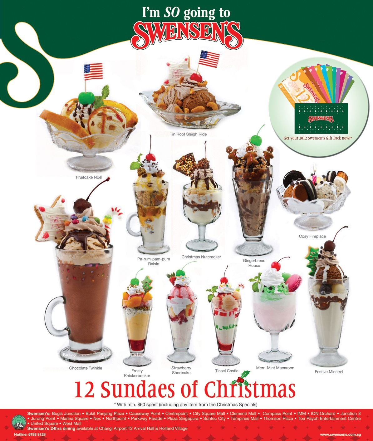 Swensen's Gift Pack Giveaway