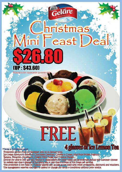 Gelare Christmas Mini Feast Deal