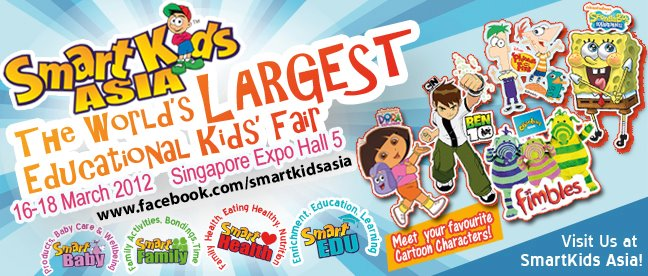 """SmartKids Asia """"The World's Largest Educational Kids' Fair"""""""