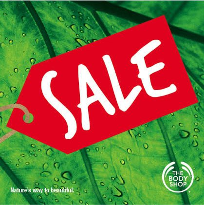 The Body Shop Clearance Sale
