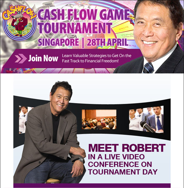 The Cashflow Game Tournament, Exclusive $18 Off Registration