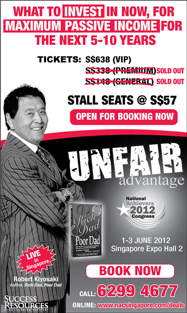 'Unfair Advantage' Featuring Robert Kiyosaki