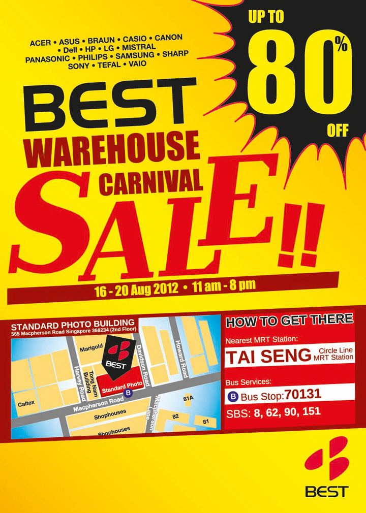 BEST Warehouse Carnival Sale