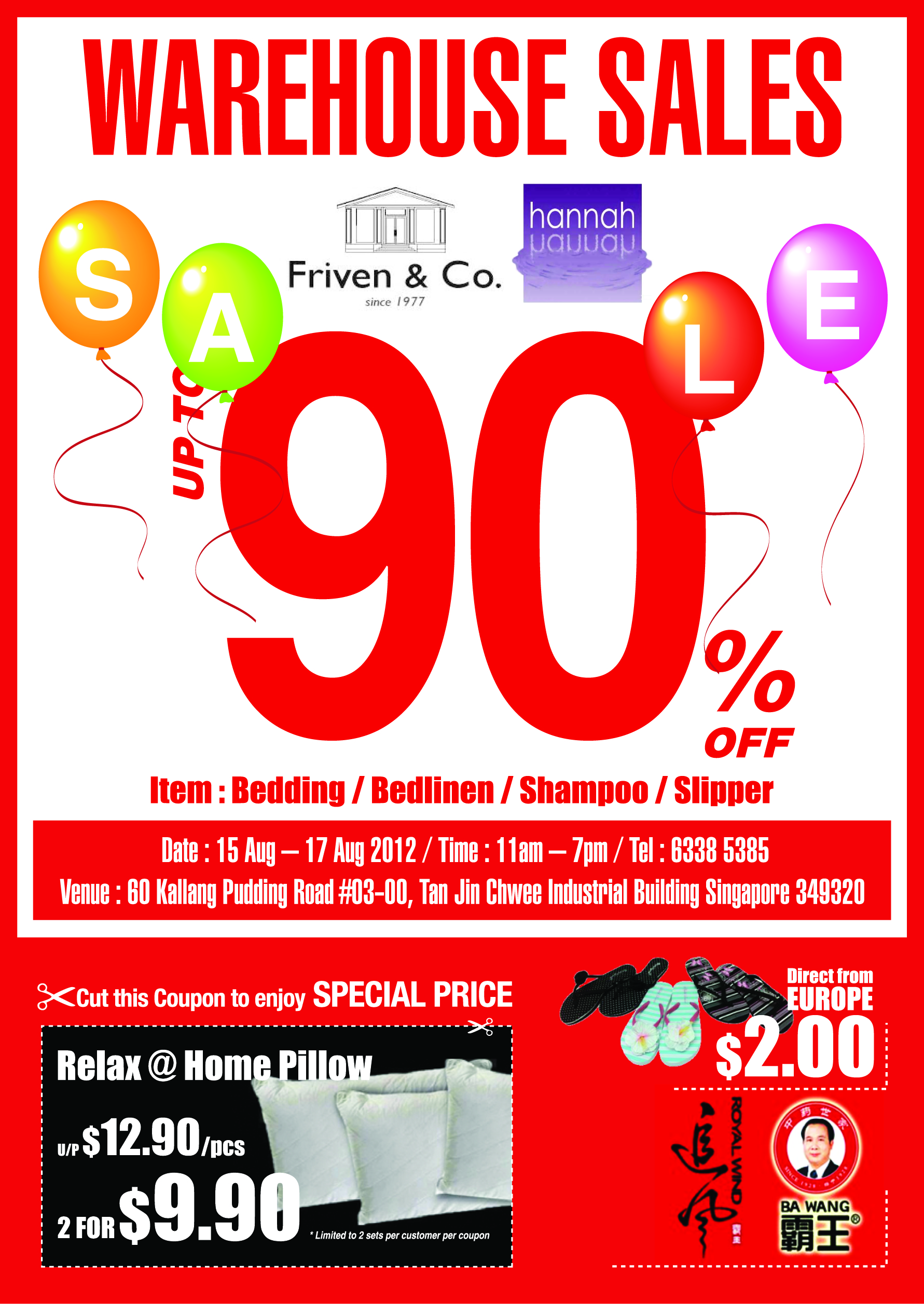 Friven & Co. Warehouse Sale