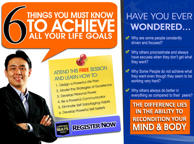 Free Seminar To Achieve All Your Life Goals