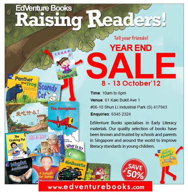 EdVenture Books Year-End Sale