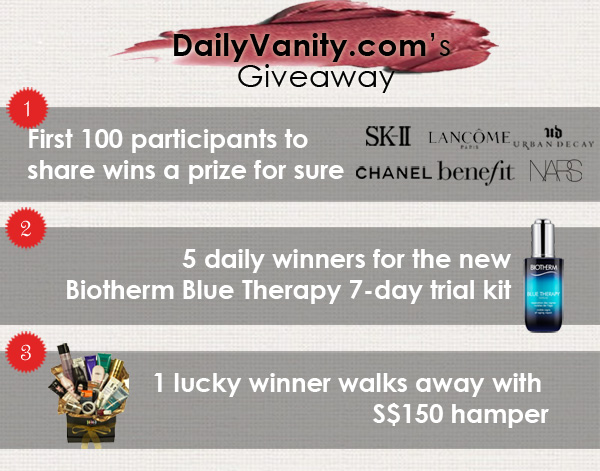DailyVanity.com Beauty Giveaway