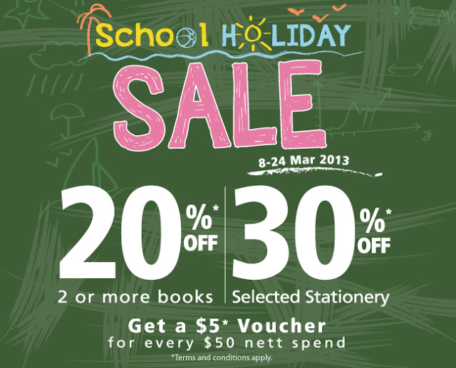 { prologue } School Holiday Sale
