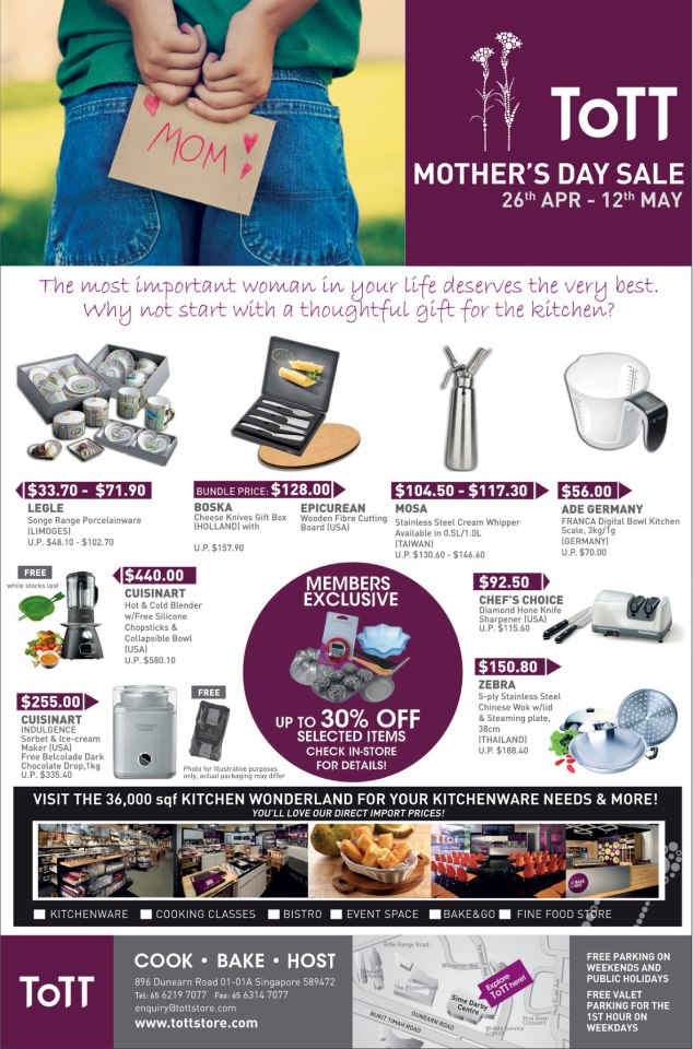 ToTT Mother's Day Sale