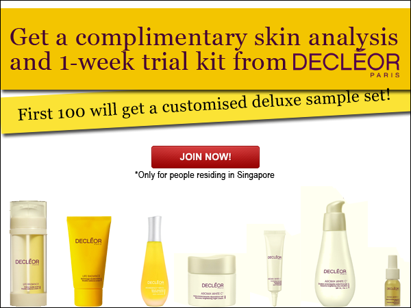 Decleor 1-Week Kit Giveaway