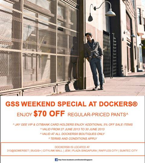 Dockers GSS Weekend Special