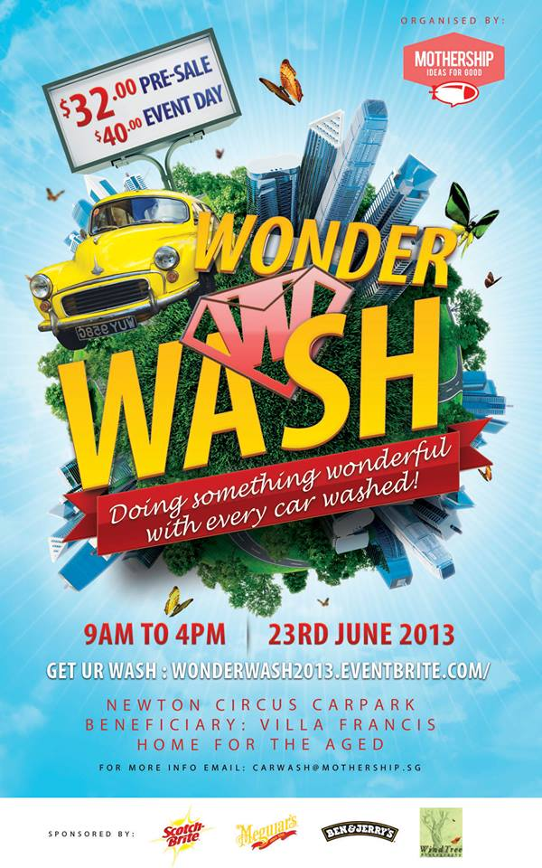 Wonder Wash Carwash Event