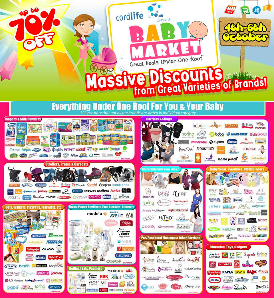 Baby Market Fair 2013 @ Expo, Over 400 Participating Brands