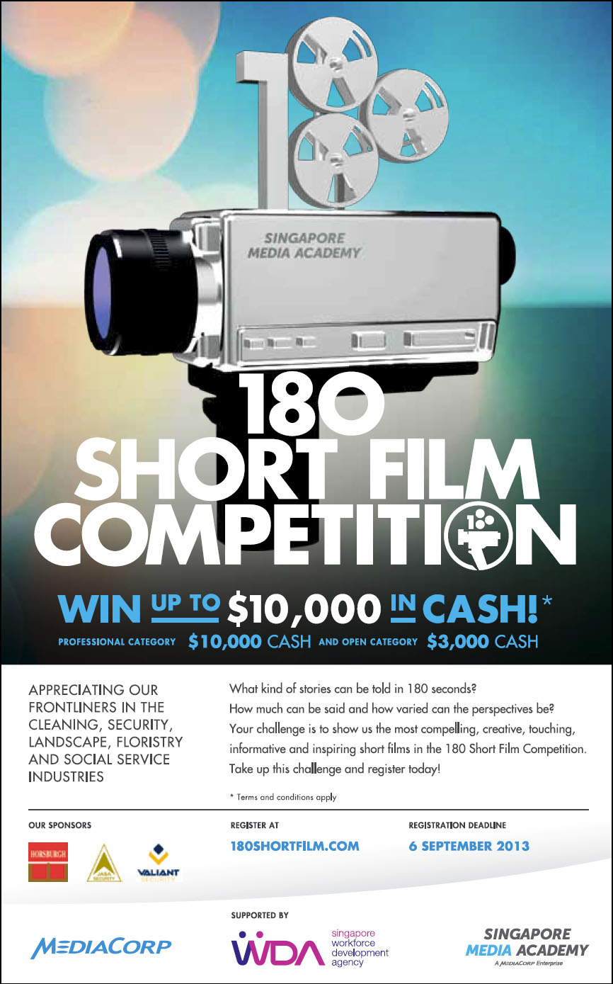 180 Short Film Competition, Win Up To $10,000 Cash