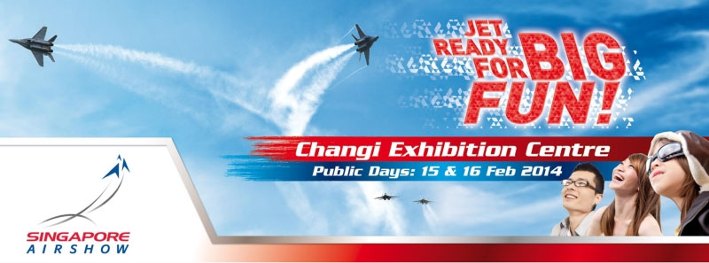 Singapore Airshow 2014 Opens To Public in February, Tickets On Sale Starting November 1st 2013