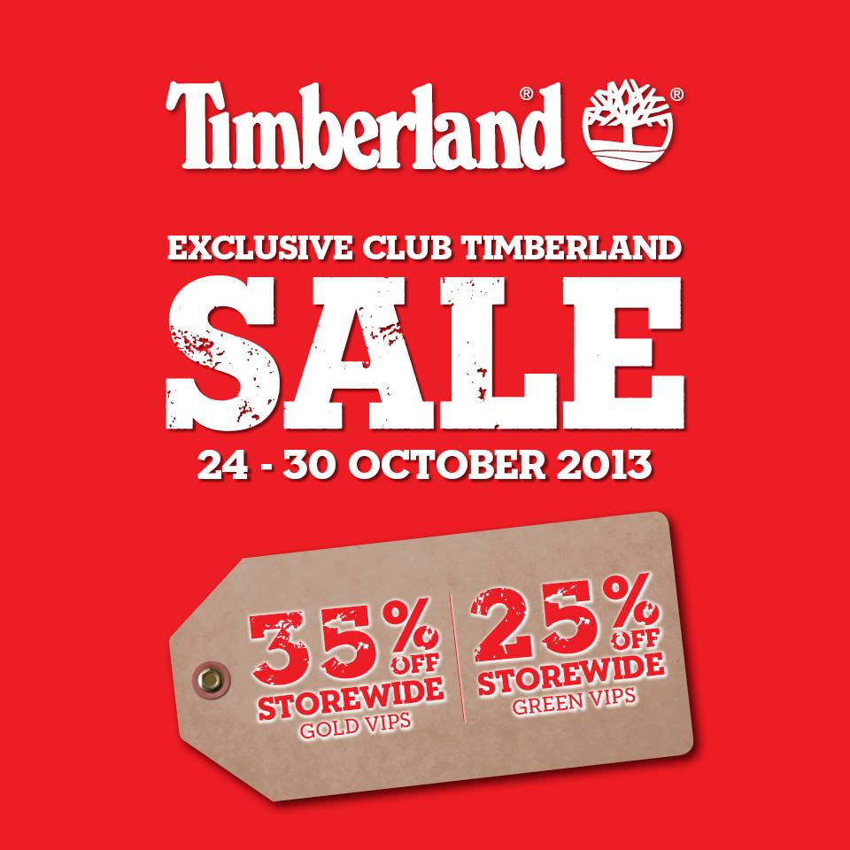 Timberland Exclusive Member Storewide Sale, 35% Discount For Gold VIPs