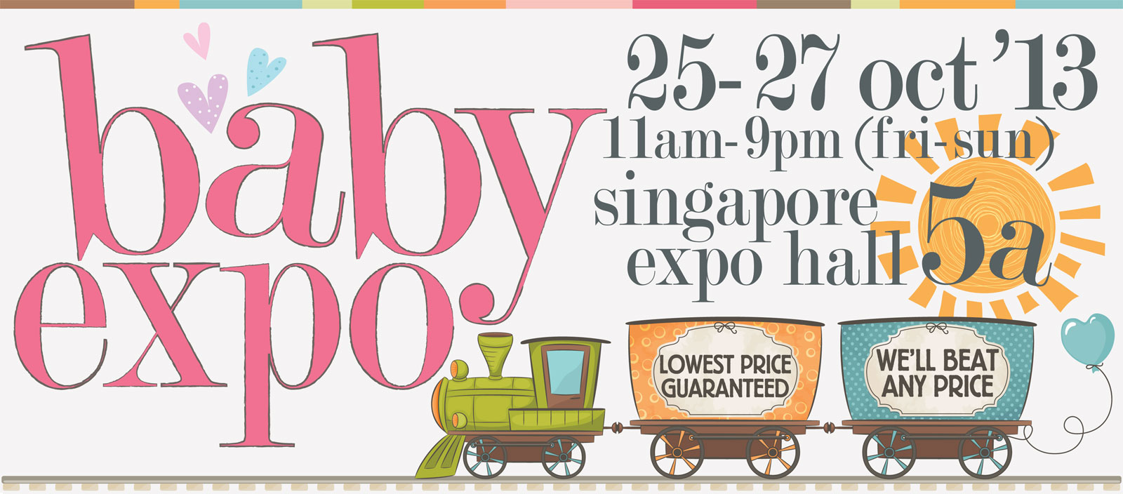 Baby Expo 2013: Lowest Price Guaranteed For Your Pregnancy, Baby & Toddler Products