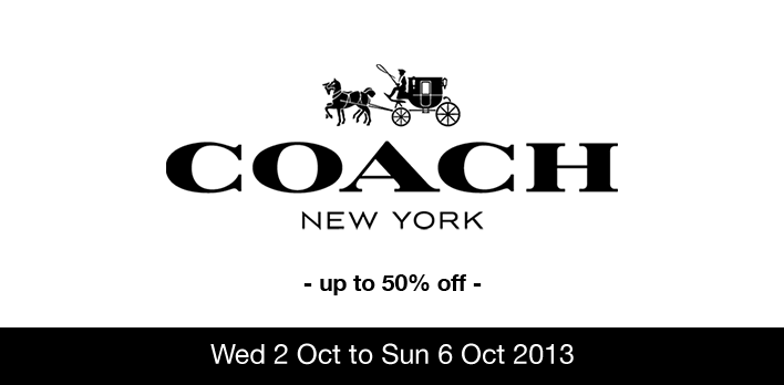 Coach Sales Up To 50% @ Takashimaya Talking Hall B1