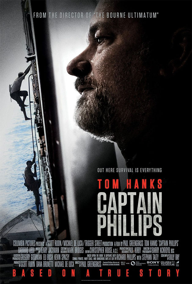[MOTW] Movie Of The Week: Captain Phillips – Pirates vs Hostages Action Thriller
