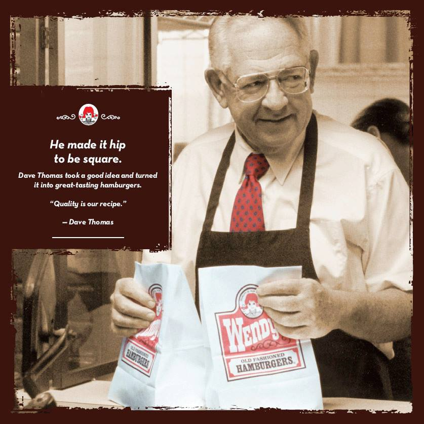 Wendy's Founder's Week 2013: Free 6oz Frosty With Combo Meals Purchase