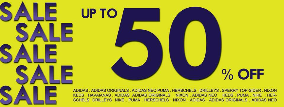 DOT Singapore End Of Season Sale 2013: 50% Off Storewide Brands