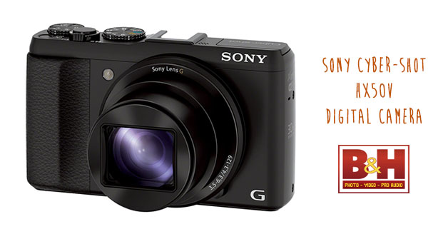Sony Cybershot HX50V Digital Point & Shoot Camera Now Only US$349 @ B&H Photo Video