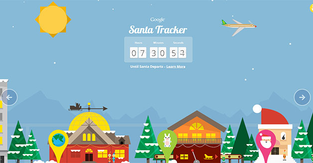 Google Doodle Christmas Takes You To Santa Tracker Interactive Page, Play Mini-Games & Preview Santa's Dashboard