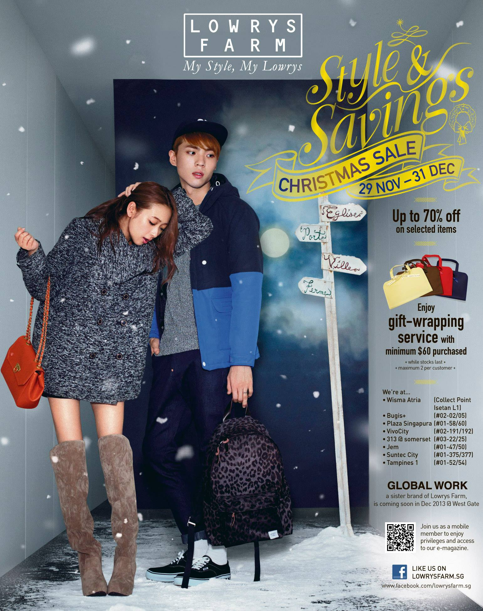 Lowrys Farm Style & Savings Christmas Sale December 2013: Up To 70% Off On Selected Items + Gift Wrapping