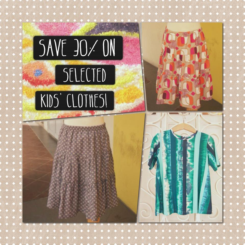 Rose Citron Kids Clothes Promotion December 2013: Save 30% On Selected Apparel Items