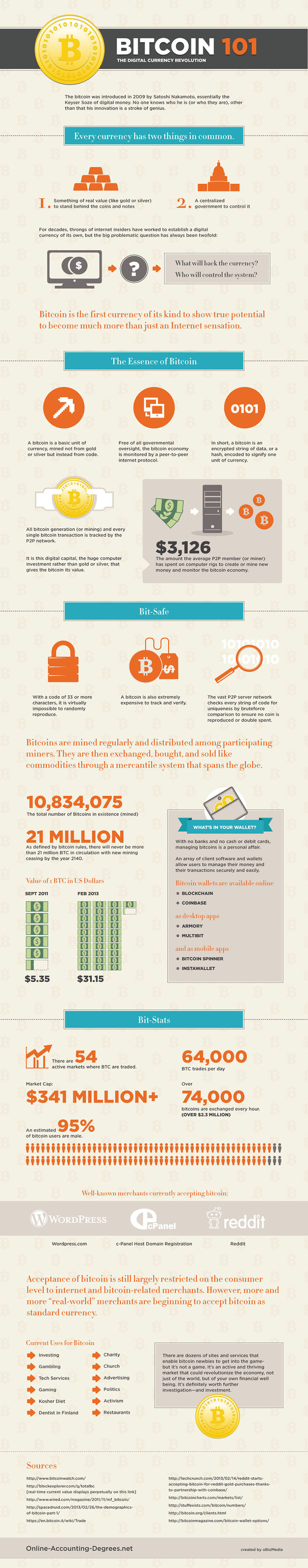 The Bitcoin Phenomenal & How It Works: This Cheatsheet + Infographic That Explains It All