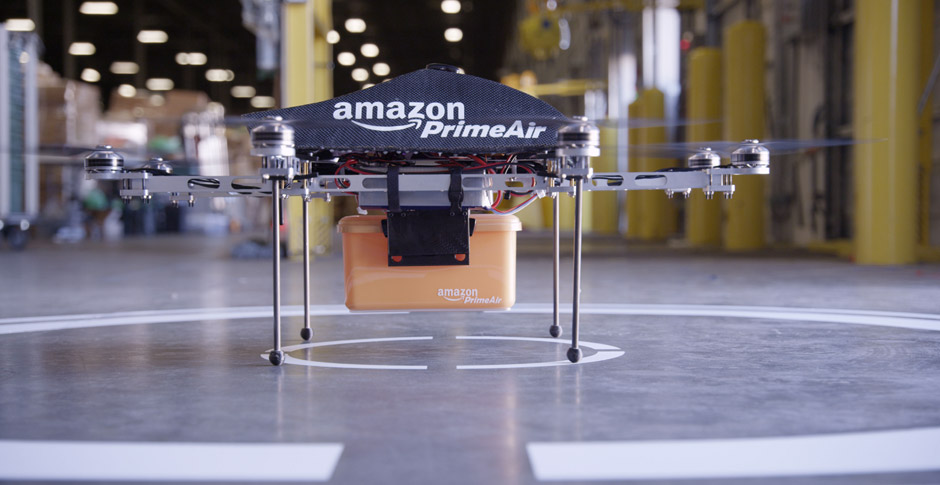 Amazon Prime Air: Automatic Robot Delivery Of Your Order Within 30 Minutes By Flight