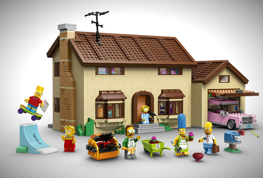 LEGO The Simpsons House Set Is Here: Looks Awesome, Costs US$200 All Set To Release In February 2014