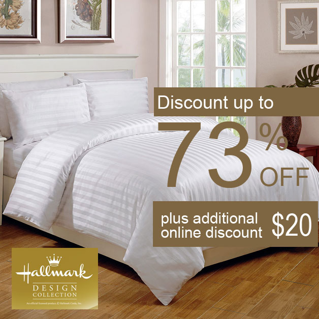 Hallmark Bed Linen Set Specials February 2014 Promotion: Up To 73% Off In Stores & Online