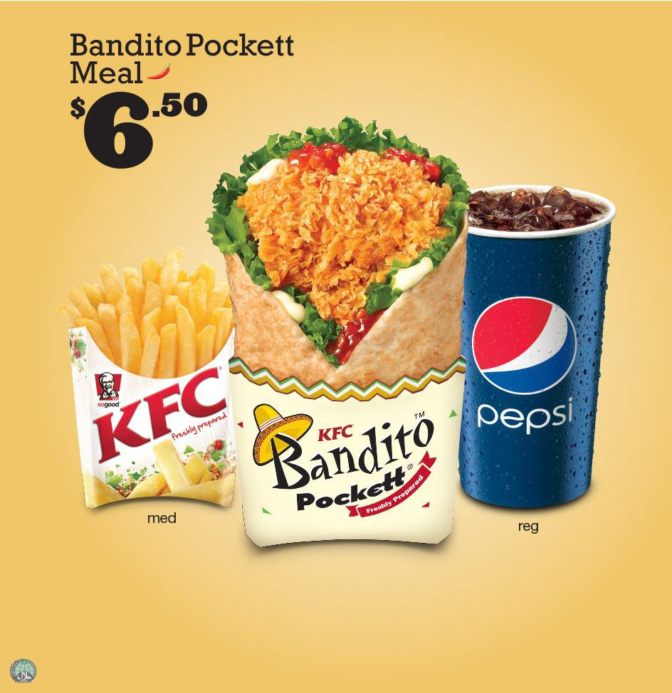 KFC Bandito Pockett Returns This March 2014, Promises To Be #SoGood