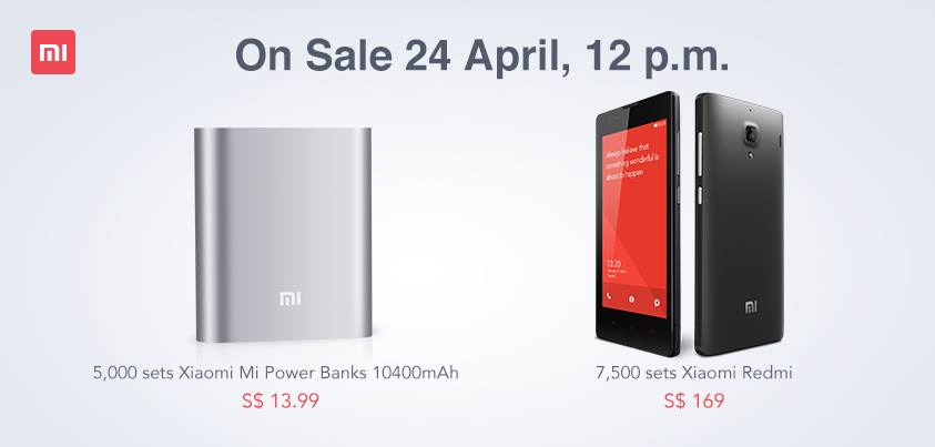 Get Ready For Xiaomi Power Bank & Redmi Smartphone Sale Tomorrow