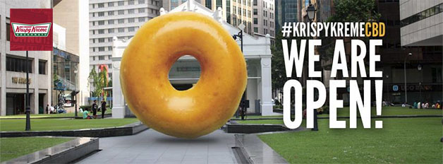 Krispy Kreme Opens Second Outlet In CBD @ Income At Raffles (Formerly Hitachi Tower)
