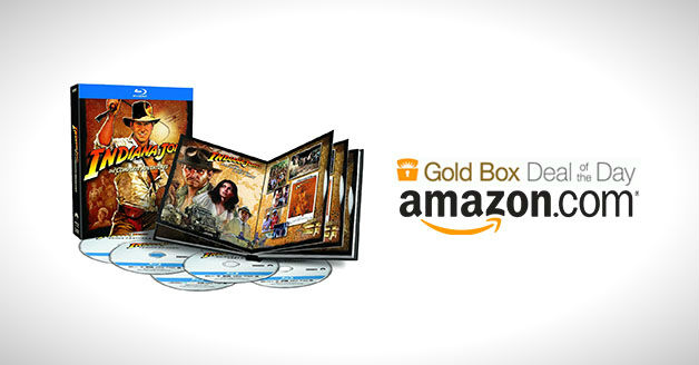 Get Indiana Jones Complete Adventures Blu-ray Collection Only US$29.99 @ Amazon Today Only